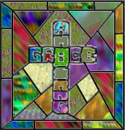 AmeriYank's amazing grace stained glass cross tube