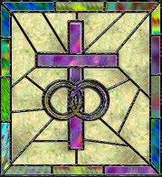 AmeriYank's stained glass marriage cross tube